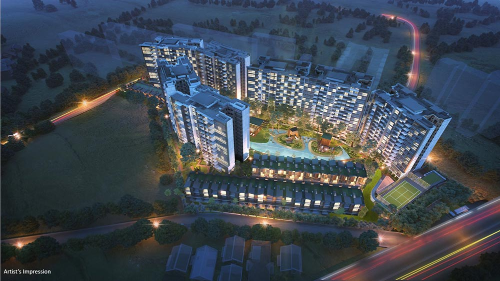 Affinity At Serangoon Aerial View