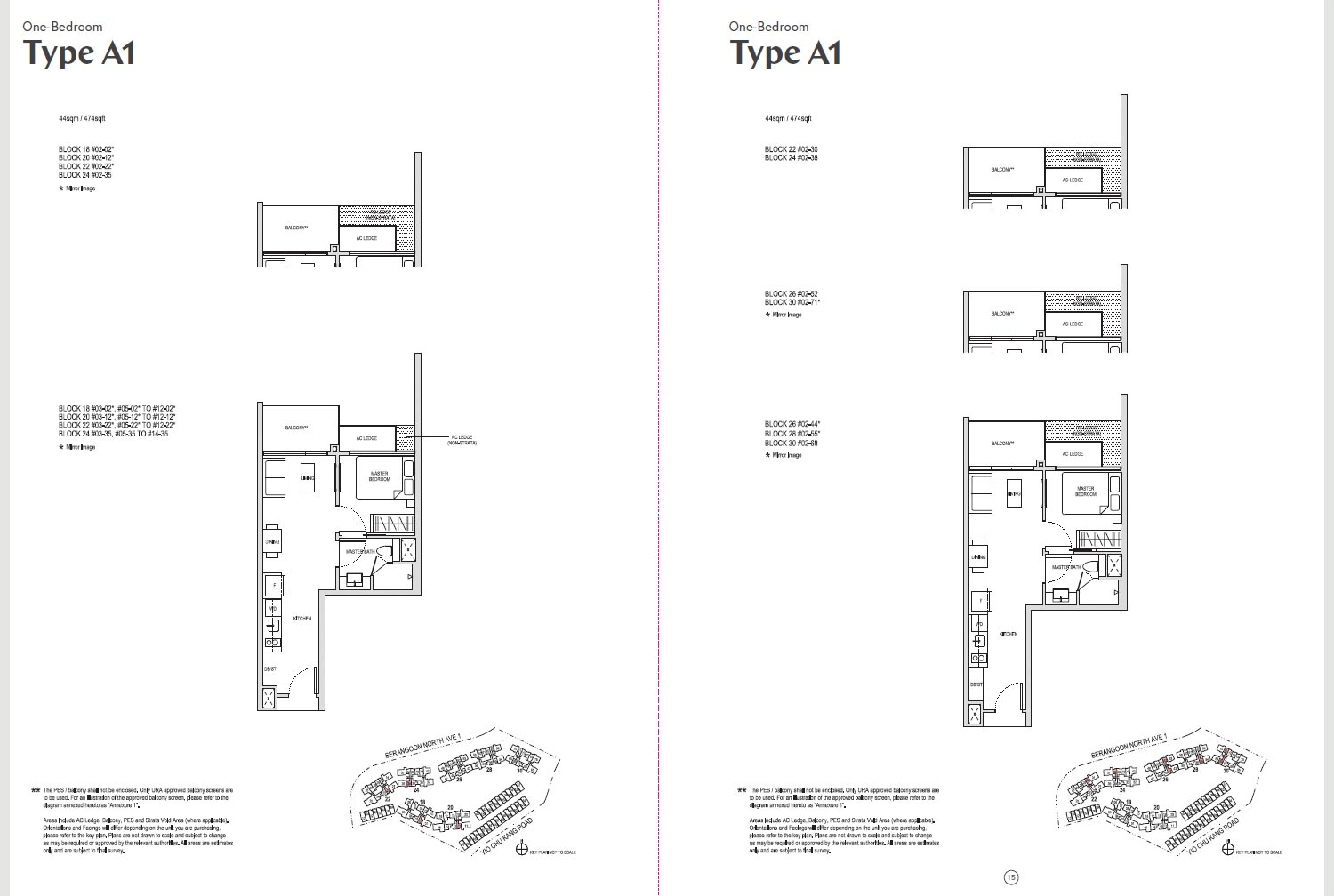 Affinity At Serangoon Floor Plan - A1