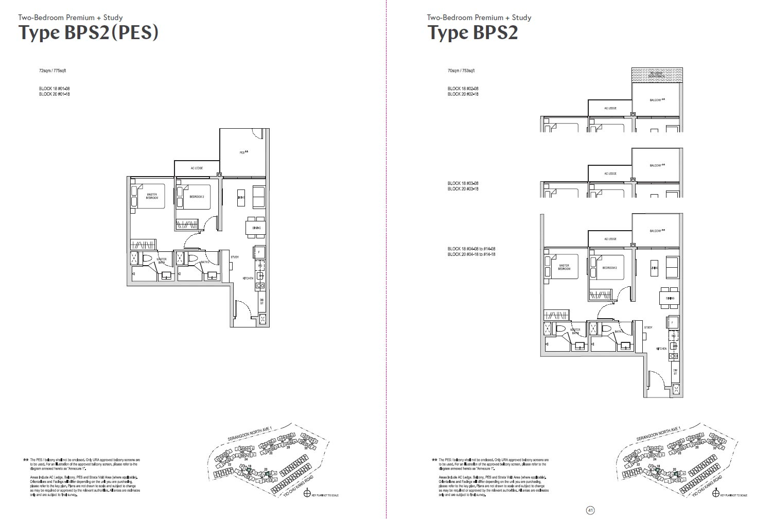 Affinity At Serangoon Floor Plan - BP1