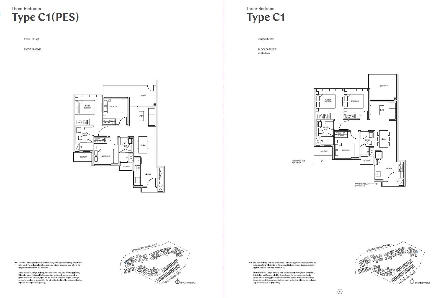 Affinity At Serangoon Floor Plan - C1