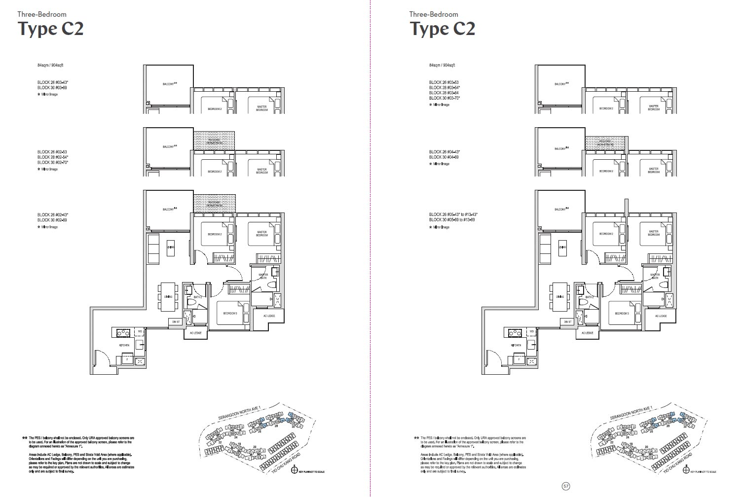Affinity At Serangoon Floor Plan - C2