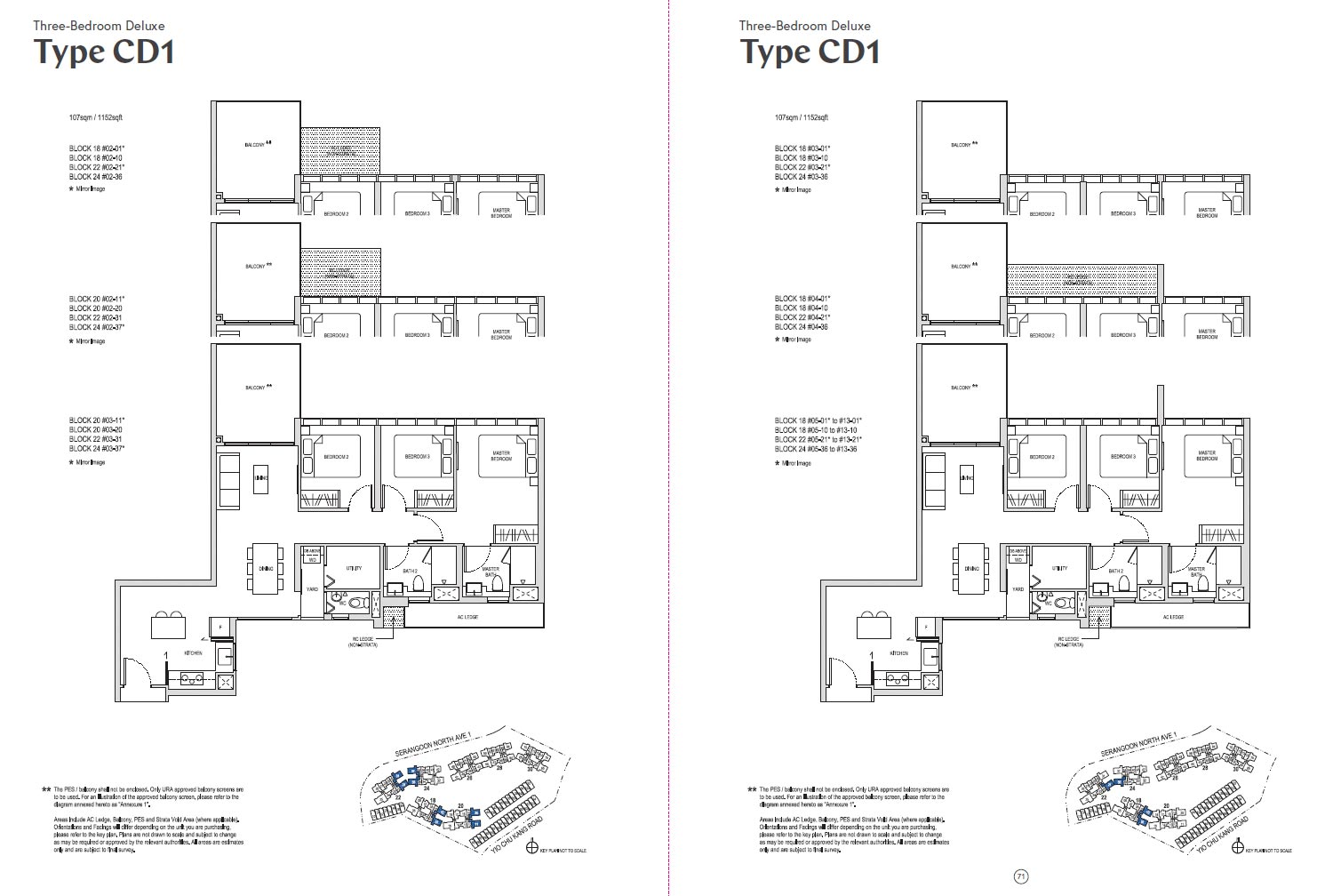 Affinity At Serangoon Floor Plan - CD1