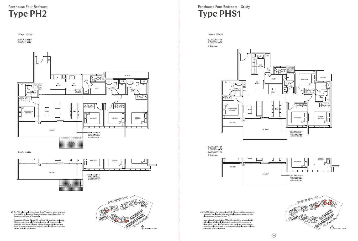 Affinity At Serangoon Floor Plan - PHS1
