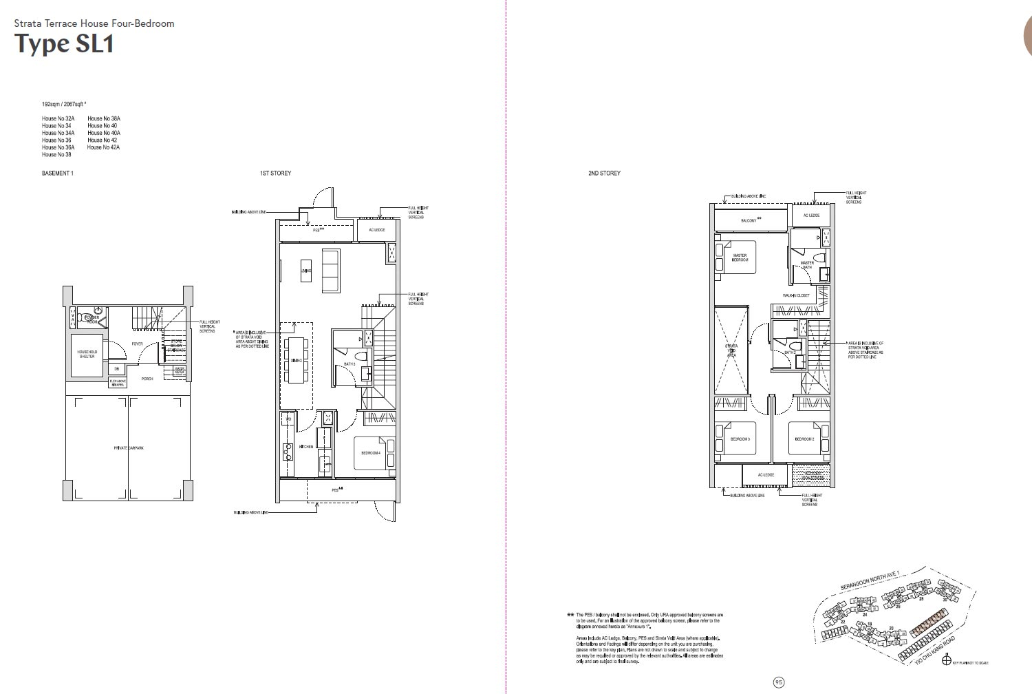 Affinity At Serangoon Floor Plan - SL1
