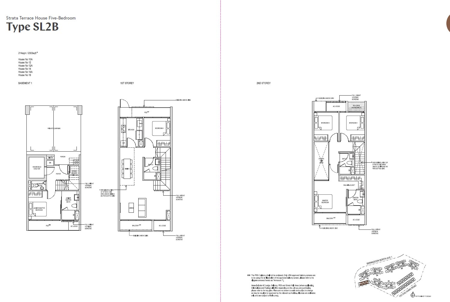 Affinity At Serangoon Floor Plan - SL2B